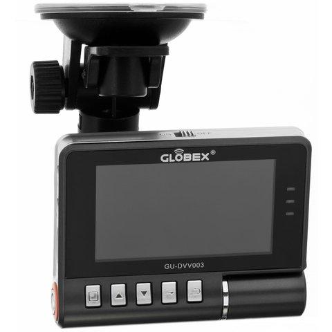 Двухканальный видеорегистратор с монитором Globex GU-DVV003 Превью 1