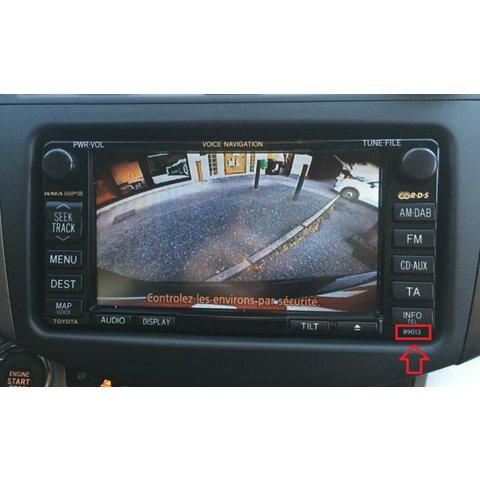 Кабель для під'єднання камери до моніторів Toyota MFD GEN5 / GEN6 DVD Navi Прев'ю 5