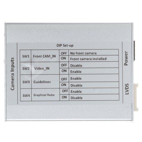 Адаптер подключения камеры заднего и переднего вида для Cadillac/Buick Превью 3
