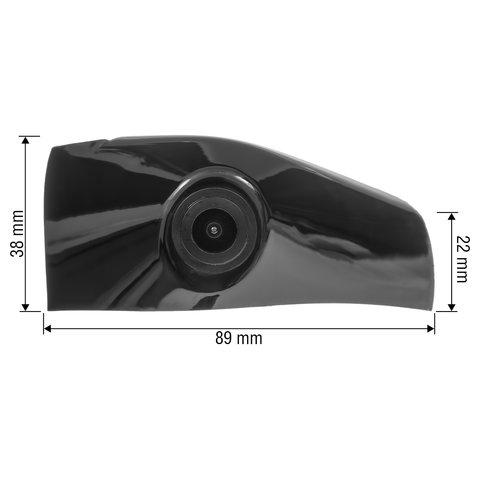 Камера переднего вида для Toyota Camry Normal Low Version 2018 г.в. Превью 1
