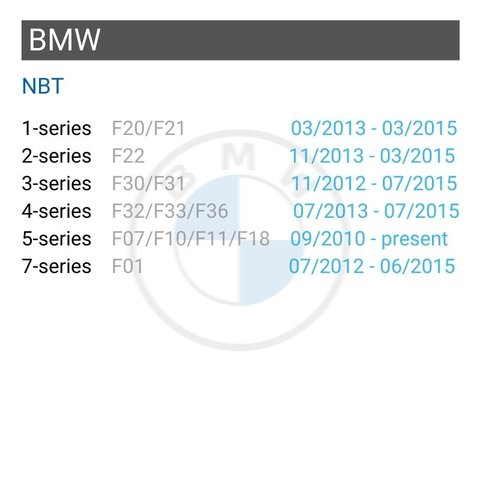 Wireless CarPlay and Android Auto Adapter for BMW with NBT Preview 1