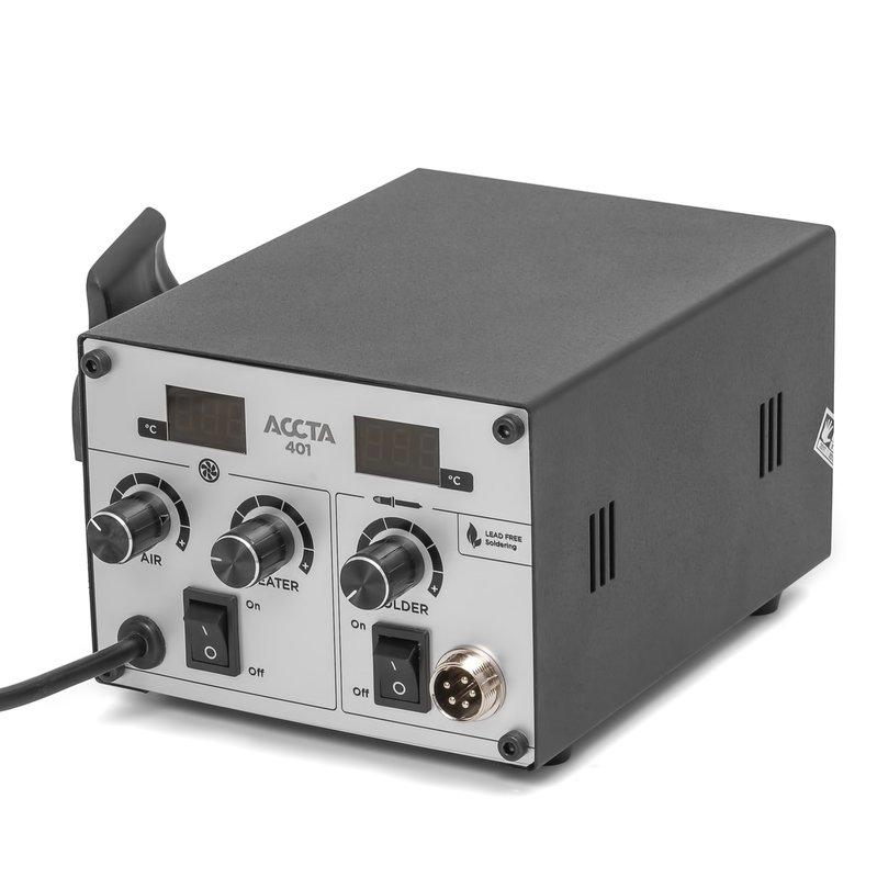 Термоповітряна паяльна станція Accta 401 Зображення 14