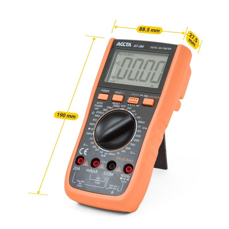Цифровий мультиметр Accta AT-280 Зображення 6