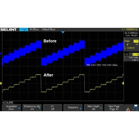 Фосфорний цифровий осцилограф SIGLENT SDS2304X Прев'ю 13