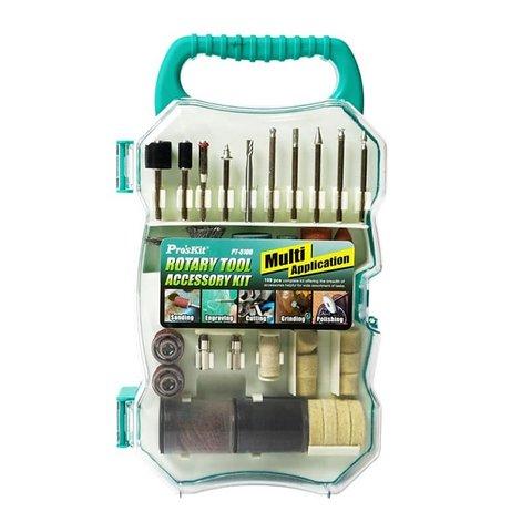 Набір аксесуарів Pro'sKit PT-5100 для шліфмашин Pro'sKit PT-5201A, PT-5201B, PT-5501I Прев'ю 2