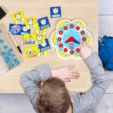 Навчальний ігровий набір Quercetti серії Play Montessori Перший годинник Прев'ю 3